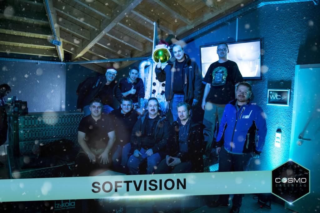 Lasertag Gruppenbild SoftVision