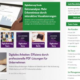 Tools Fachmagazin Screenshot
