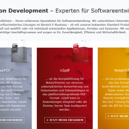 SoftVision Website 2019
